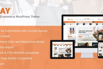 Shopay – Free E-commerce WordPress Theme