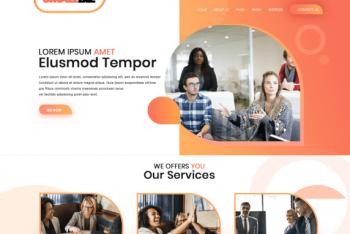 Smallbiz Startup – Free Blog & Business WordPress Theme