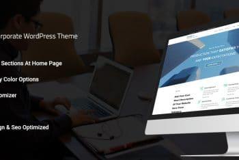SwipeWP – A Free Business WordPress Theme