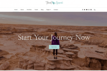 Travel Nomad – Free Travel Blog WordPress Theme