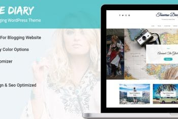 Traverse Diary – Free Minimal WordPress Blog Theme