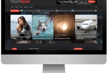 TrustNews – Free Magazine & News WordPress Theme