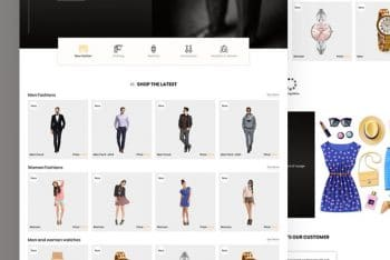 Uixo – A Free Fashion Website HTML Template