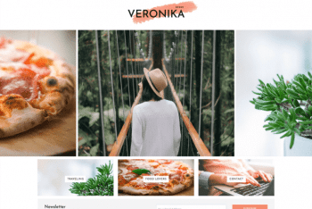 Veronika – Simple Blog WordPress Theme for Free