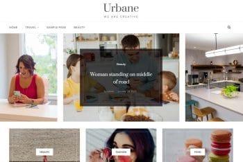Urbane – Free WordPress Blog Theme