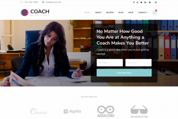 Blossom Coach – Free WordPress Coach Theme