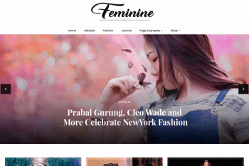 Blossom Feminine – Free Feminine WordPress Blog Theme