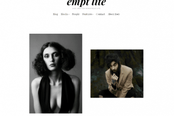 Empt Lite – Simple & Elegant WordPress Theme for Free