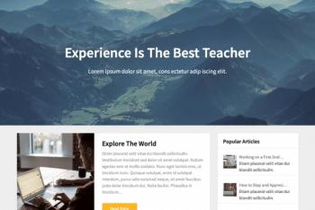 Newsbloggerly – SEO-friendly WordPress Blog Theme for Free