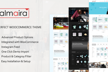 Almaira – Free Lightweight Ecommerce WordPress Theme
