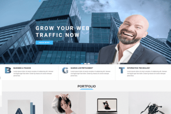 Bizblack – Minimal WordPress Theme (Free Download)