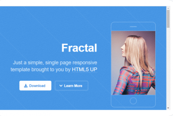 Fractal – HTML Template (Free Download)