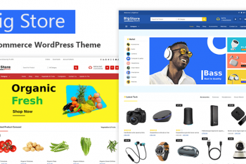 Big Store – Free Responsive Ecommerce WordPress Theme
