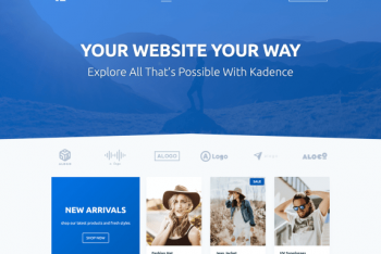 Kadence – A Lightweight WordPress Theme for Free