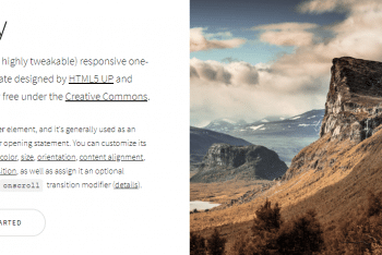 Story – Free Responsive One-page HTML Template
