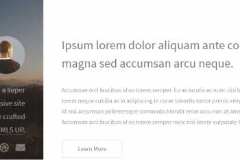 Strata – Simple & Responsive HTML Template for Free