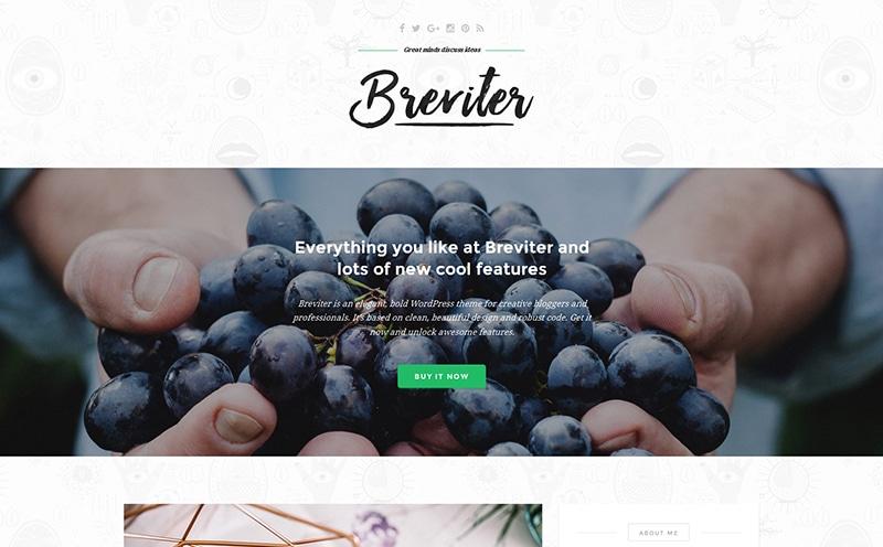Breviter-free-theme