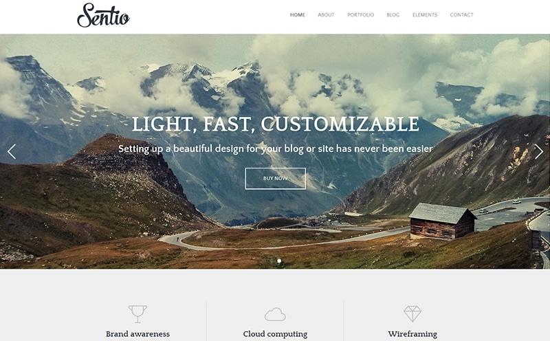 Sentio Pro theme